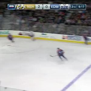 Ben Scrivens Save on Ryan Ellis (10:44/2nd)
