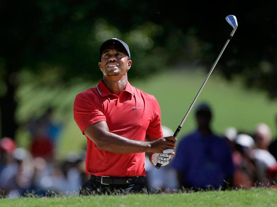 Tiger competing against his past
