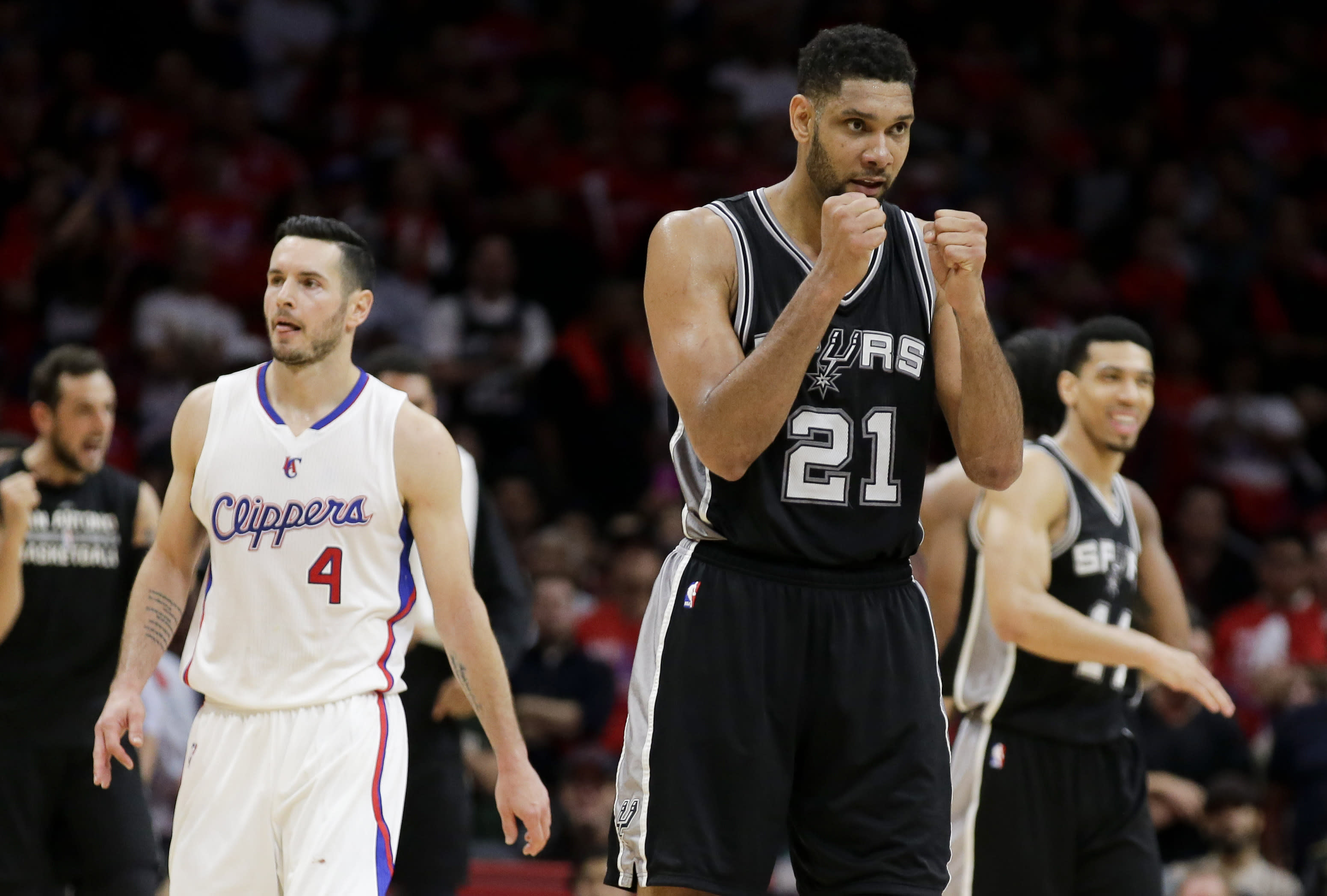 Clippers-Spurs series giving lopsided 1st round some drama