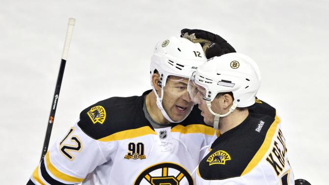 Iginla nets 2 goals in Bruins' 4-2 win over Oilers