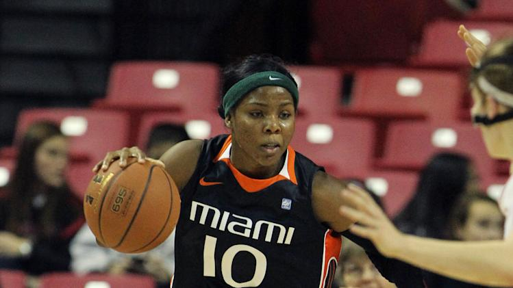 NCAA Womens Basketball: Miami-Florida at Maryland