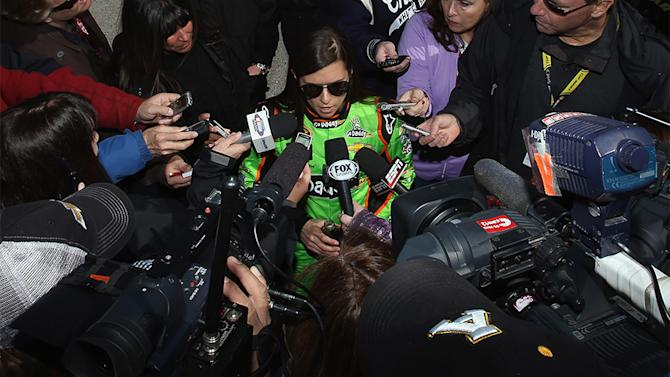 Danica's pole win resonates beyond Daytona