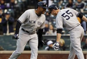 Wells, Boesch lift Yankees to 3-2 win over Rockies
