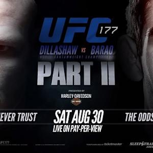 UFC 177: Dillashaw vs. Barao II Preview