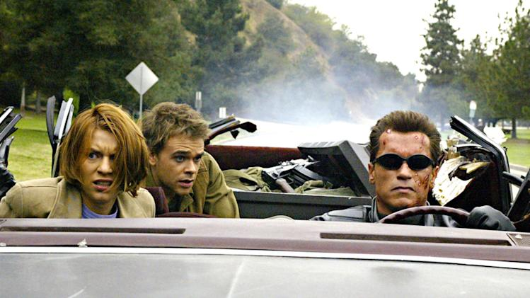 Terminator 3 Rise of the Machines 2003 Production Stills Warner Brothers Claire Danes Nick Stahl Arnold Schwarzenegger