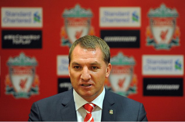 Newly Appointed Liverpool Football Club Manager Brendan Rodgers Attends A Press Conference To Announce His Arrival At  AFP/Getty Images