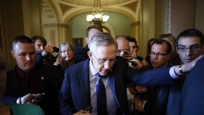 Emerging Senate proposal focus in budget battle