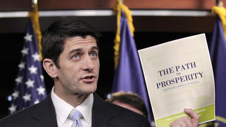 Back to budgets, Ryan returns to comfortable topic