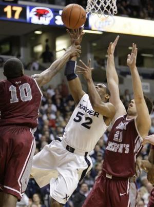 Xavier beats Saint Joseph's 68-55 for 4th straight