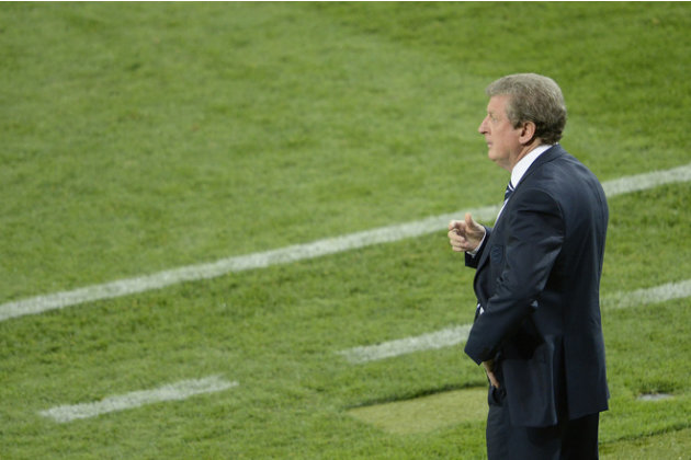English Headcoach Roy Hodgson …