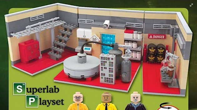 'Breaking Bad' Inspired Meth Lab Play Set Lets Fans Channel Walter White (ABC News)