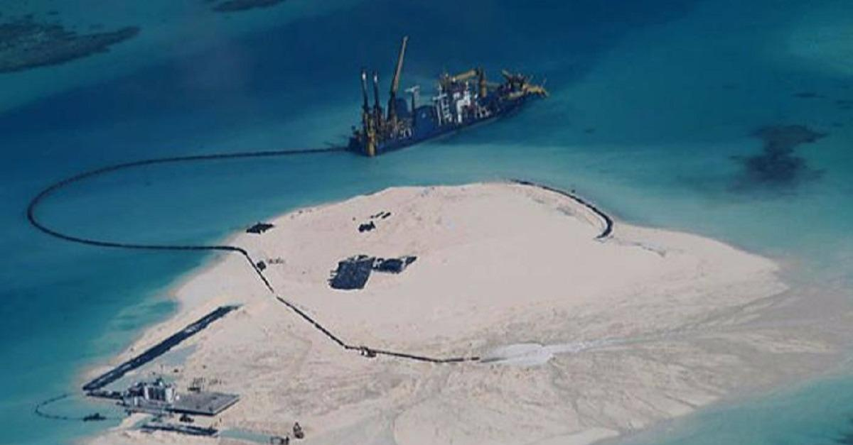 "China Expands Territory with ""Artificial Islands"""