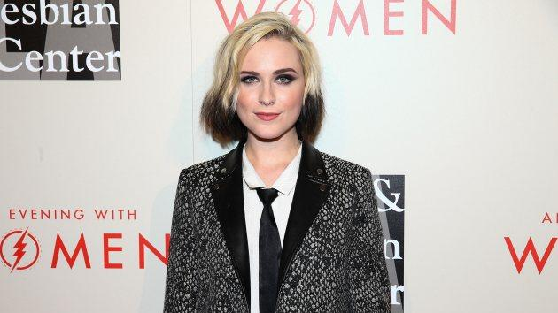 Evan Rachel Wood attends The L.A. Gay & Lesbian Center's 2014 An Evening With Women (AEWW) at The Beverly Hilton Hotel on May 10, 2014 in Beverly Hills -- Getty Images