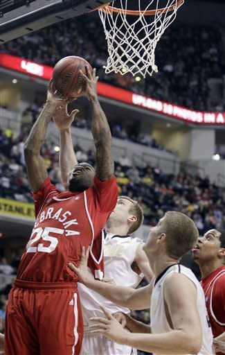 Johnson leads Purdue past Nebraska 79-61