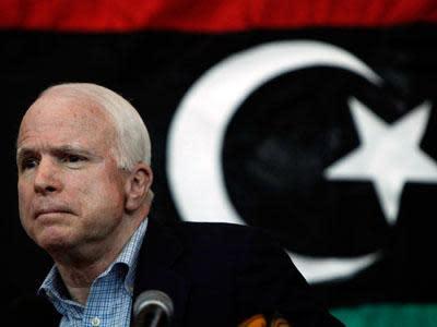 McCain calls for panel to probe Libya