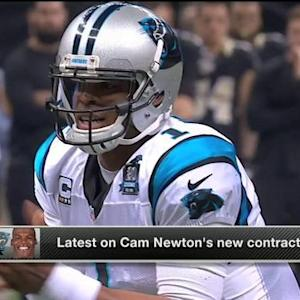 NFL Media Insider Ian Rapoport: Carolina Panthers quarterback Cam Newton's deal to include big guaranteed money