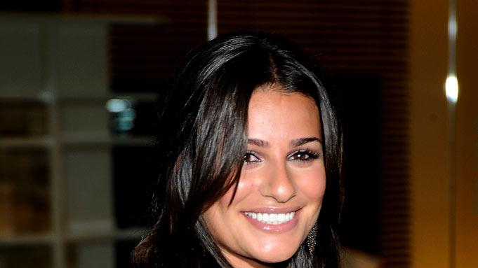 "Lea Michele arrives at a screening Of ""Home"" held at Stella McCartney's Store on June 5, 2009 in West Hollywood, California."
