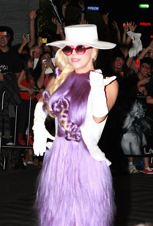 Lady Gaga en Hong Kong