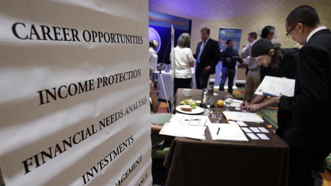US economy adds 163K jobs, rate rises to 8.3 pct.