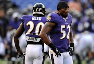 It will take an explosive Ravens offense if Ray Lewis and Ed Reed have a shot at a Super Bowl. (Getty Images)
