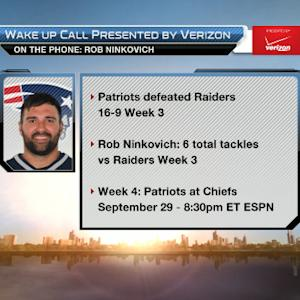 New England Patriots linebacker Rob Ninkovich: Our offense will start to click
