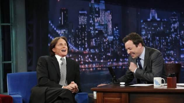 Bruce Jenner visits 'Late Night with Jimmy Fallon' -- NBC