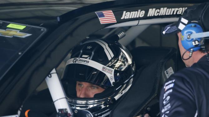 McMurray wins pole for road course race at Sonoma