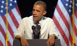 Obama speaks at a campaign event in Los Angeles on Oct. 7: If the president isn't tired of his job, as some political analysts believe, he has to do a better job of showing he wants a second term.