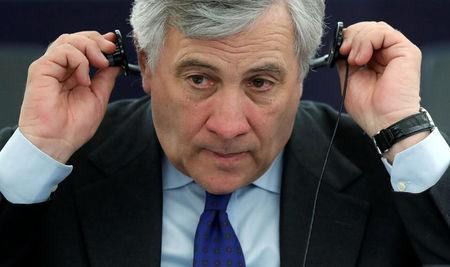 Conservative Tajani is new EU parliament speaker as euroscepticism surges