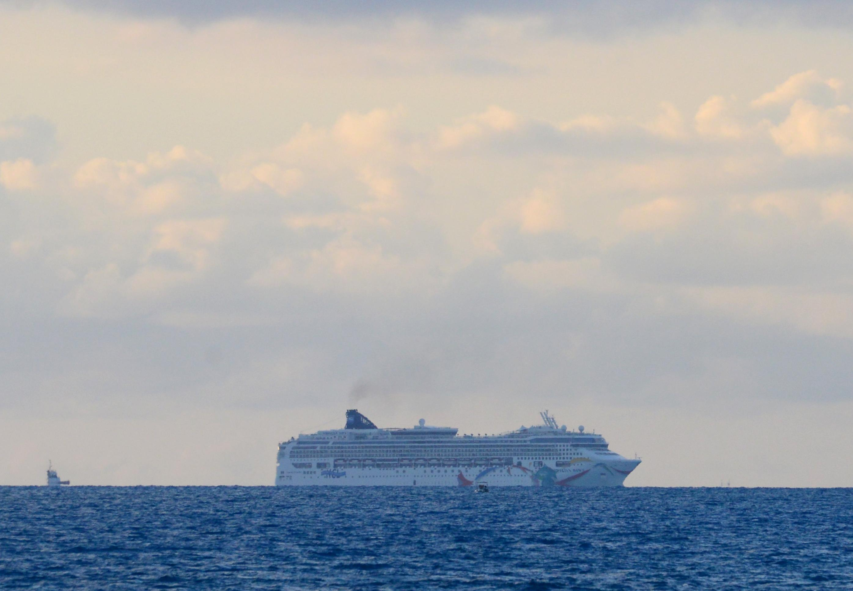 Cruise ship freed from reef off Bermuda departs for Boston