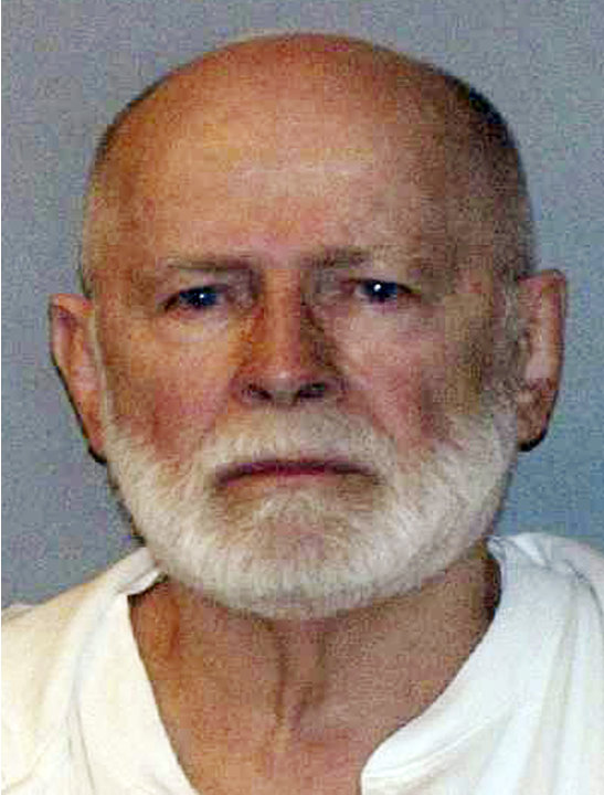 "FILE - This June 23, 2011 booking photo provided by the U.S. Marshals Service shows James ""Whitey"" Bulger, one of the FBI's Ten Most Wanted fugitives, captured in Santa Monica, Calif., after 16 years"