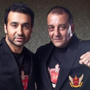 All Is Well Between Sanjay Dutt And Raj Kundra