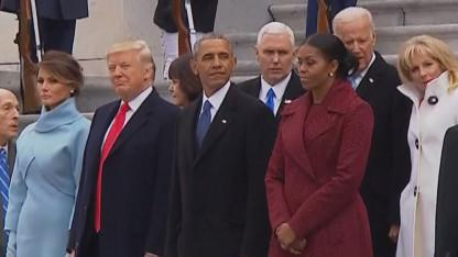 What Body Language Reveals About Donald Trump, Michelle Obama Prior to Inauguration