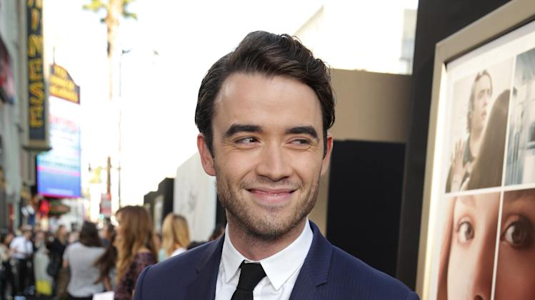 Jamie Blackley seen at the Los Angeles World Premiere of New Line Cinema's and Metro-Goldwyn-Mayer Pictures' 'If I Stay' held at TCL Chinese Theatre on Wednesday, August 20, 2014, in Hollywood. (Photo by Eric Charbonneau/Invision for Warner Bros./AP Images)