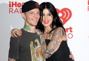 Deadmau5 and Kat Von D | Photo Credits: C. Flanigan/FilmMagic