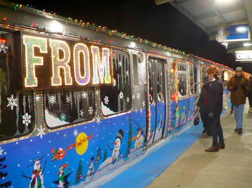 Bust Out the Holly: The CTA's Santa Train is Coming to Town
