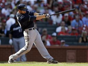 Lucroy homers in 10th, Brewers defeat Cardinals