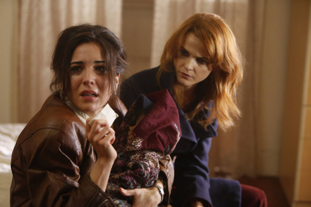 &quot;Gregory&quot; -- Audrey Esparza as Joyce and Keri Russell as Elizabeth Jennings