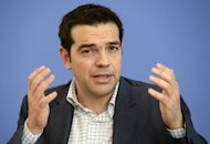 Syriza leader Alexis Tsipras, seen here in May 2012, has pledged to tear up Greece's loan agreement with the EU and the IMF