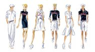 Sketches provided by Ralph Lauren shows the US Olympic team uniforms for the 2012 London Games. A statement issued Friday by the fashion house confirmed the company had committed to producing Team USA's uniforms for the opening and closing ceremonies of the 2014 Winter Games in the US