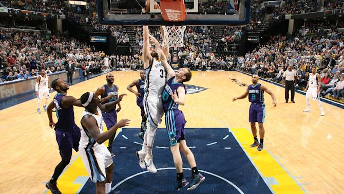 Grizzlies outlast Hornets 113-107 in 2 OTs