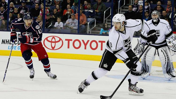 NHL: Los Angeles Kings at Columbus Blue Jackets
