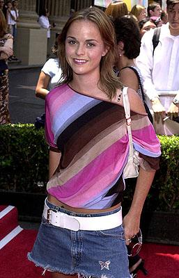 Taryn Manning at the Hollywood premiere of Walt Disney's The Princess Diaries