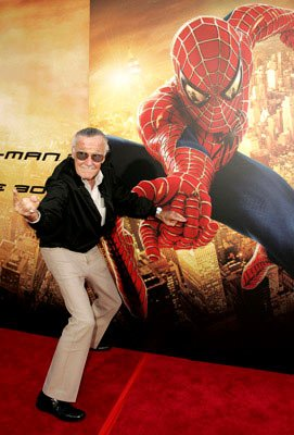 Stan Lee at the Los Angeles premiere of Columbia Pictures' Spider-Man 2