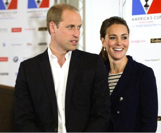 Kate And Wills Enjoy A Rare Date Night At Their Local