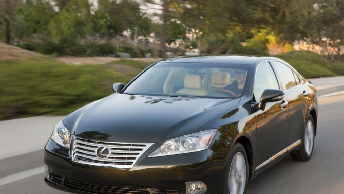 This undated photo provided by Toyota shows a 2012 Lexus ES 350. Lexus makes the best-quality cars in the U.S., and automakers overall are much better at eliminating problems that land vehicles in the repair shop, according to a survey of 2012 models by research firm J.D. Power and Associates. (AP Photo/Lexus)