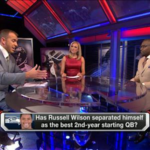 Better second-year QB: Andrew Luck or Russell Wilson?