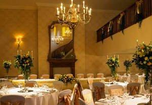 Let Hanbury Manor, A Marriott Hotel and Country Club Create a Winter Wonderland for Your Wedding