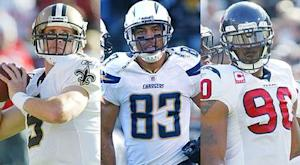 2012 free agents by position