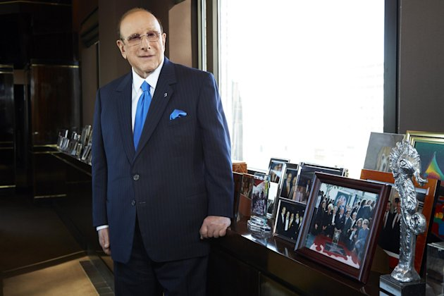"This Feb. 18, 2013 photo shows Sony Music Entertainment's Chief Creative Officer of and famous hitmaker Clive Davis posing for a portrait in New York. Davis' releases his memoir ""The Soundtrack of My Life,"" on Tuesday. (Photo by Dan Hallman/Invision/AP)"
